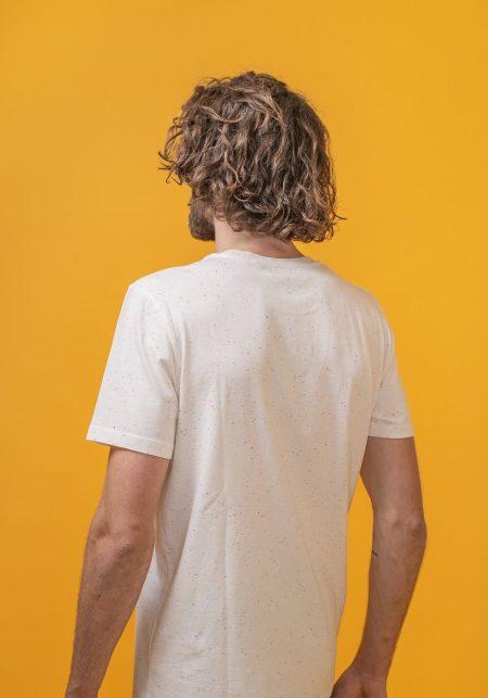 FRED + RHINO Photography Tshirt Dark Ecru Back