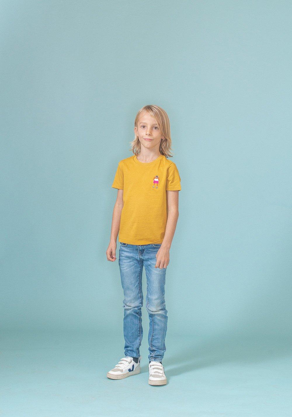 FRED + RHINO Kids Fat Tourist T-shirt